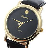 Женские наручные часы черные Geneva, фото 1