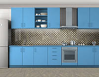 Металлические пупырышки, Наклейка на кухонный фартук, Текстуры, фоны, серый