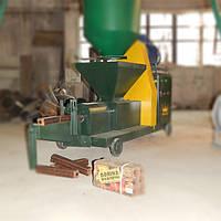 Линия брикетирования древесных отходов