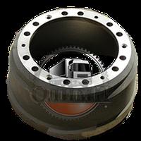 Тормозной барабан МАЗ (бездисковые колёса) 12 шпилек