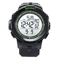 Часы Skmei DG1127 Black - Green BOX
