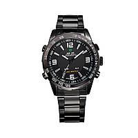Часы Weide All Black WH1009B-1C SS
