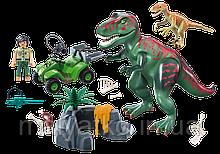 Playmobil 9231 Динозавр T-Rex с дополнениями