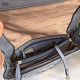Сумка, клатч Майкл Корс Sloan 21 и 27 см, цвет голубой, натуральная кожа, фото 6