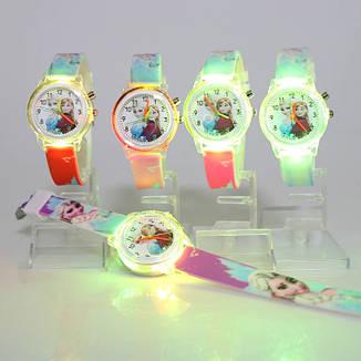 """Детские наручные часы с подсветкой """"Холодное сердце"""", фото 2"""