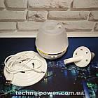 Увлажнитель воздуха 250 мл Вулкан/Капля Белый ультразвуковой. Увлажнитель воздуха для дома с подсветкой, фото 7