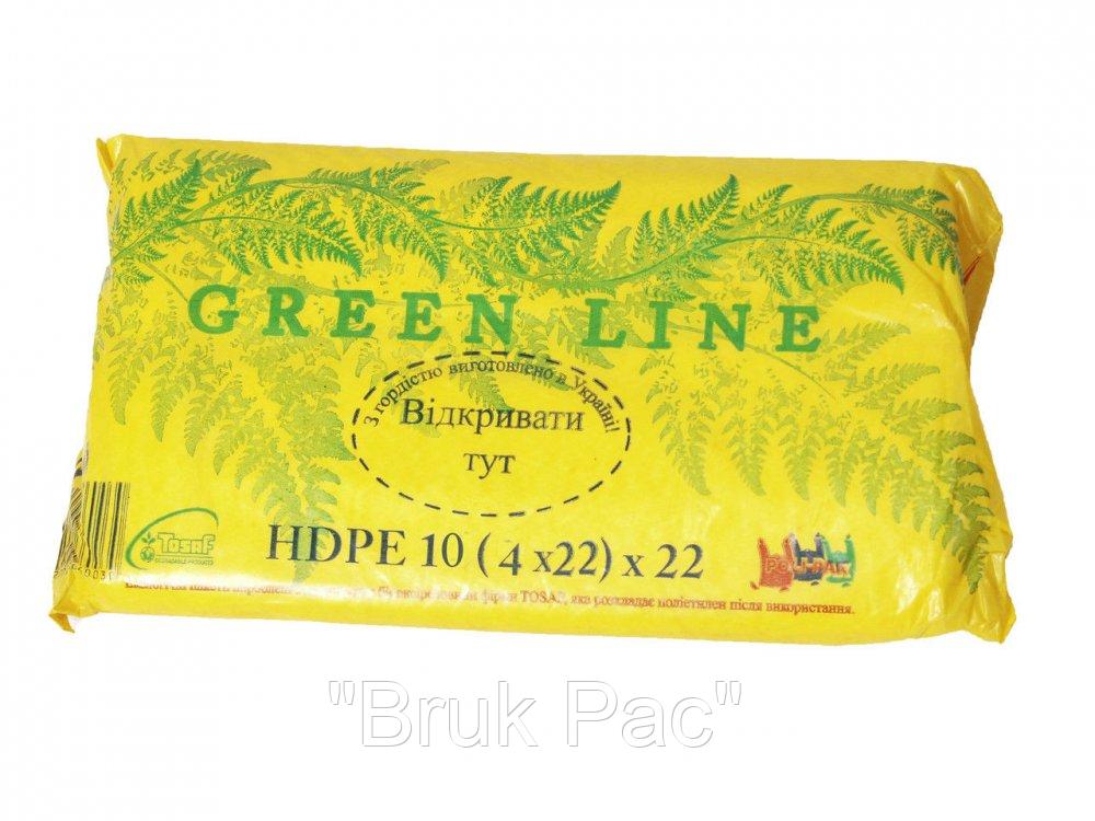 Пакет фасовочный Green Line 10*22