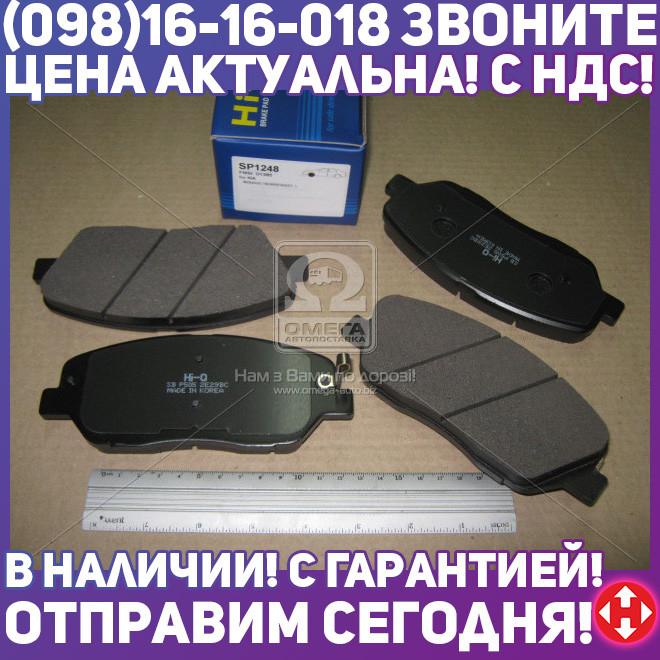 ⭐⭐⭐⭐⭐ Колодки тормозные КИA MOHAVE 3.8 V6/3.0CRDI 07-- передние (производство  SANGSIN)  SP1248