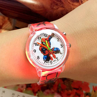 """Детские наручные часы """"Spiderman"""" с подсветкой, фото 2"""