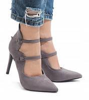 Молодёжные стильные женские туфли