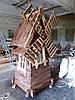 Декоративная мельница под старину