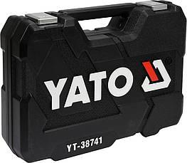 Набір інструменту для ремонту автомобіля 25 предметів Yato YT-38741, фото 3