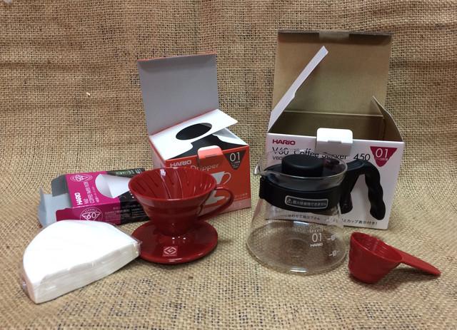 Подарочный набор харио для приготовления кофе