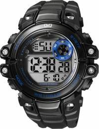 Мужские часы Q&Q M151-002 + ПОДАРОК: Держатель для телефонa L-301