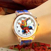"""Детские наручные часы """"Spiderman"""" с подсветкой"""