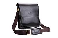 💥 Мужская сумка кожаная, чоловіча сумка, шкіряна сумка на плечо, барсетка, POLO VIDENG