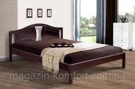 Кровать Марго двуспальная деревянная