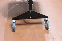 Комплект колес для стеллажа метизного 4 шт., колеса на стеллаж для ящиков