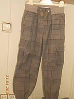 Теплые брюки карго
