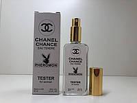 Жіночий міні-парфуми Chanel Chance Eau Tendre з феромонами (Шанель Шанс Тендер)65 мл