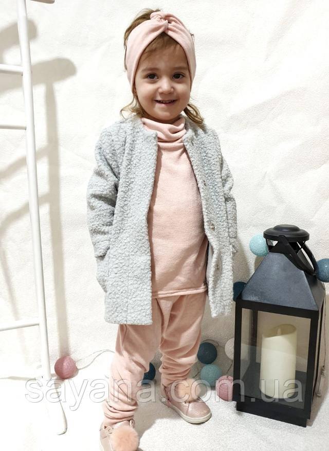 весеннее пальто для девочки
