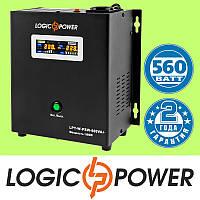 ИБП с правильной синусоидой LogicPower LPY-W-PSW-800VA+ (560W) 5A/15A 12V для котлов и аварийного