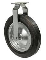 Колеса неповоротные Серия 38 Norma High с крепежной панелью Диаметр: 220мм., фото 1
