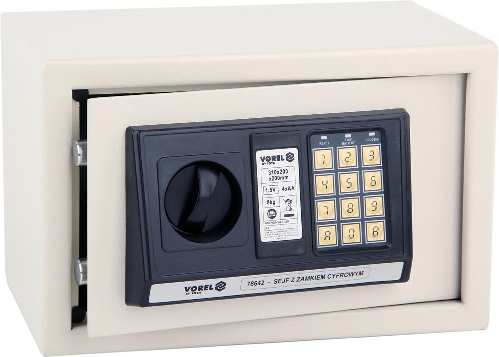 Сейф с электронным замком Vorel 78642
