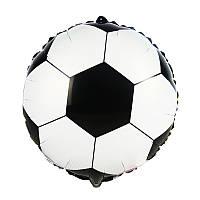 Фольгированный круглый шар, ФУТБОЛЬНЫЙ МЯЧ - 44 см (18 дюймов)