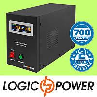 ИБП с правильной синусоидой LogicPower LPY-B-PSW-1000VA+ (700W) 10A/20A, 12V для котлов и аварийного
