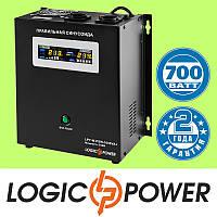 ИБП с правильной синусоидой LogicPower LPY-W-PSW-1000VA+ (700W) 10A/20A 12V для котлов и аварийного