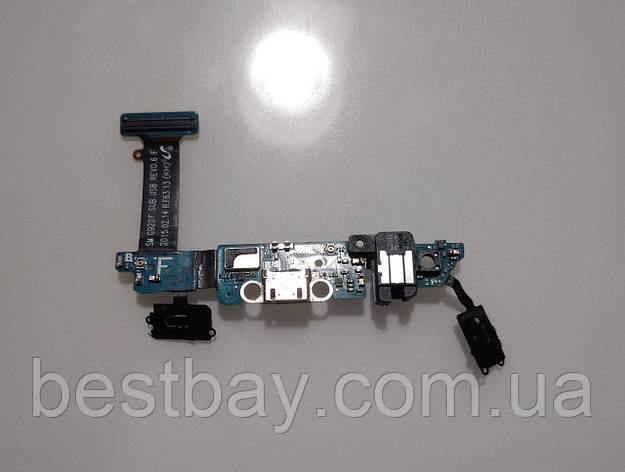 Samsung Galaxy S6 G920F нижняя плата ОРИГИНАЛ, фото 2