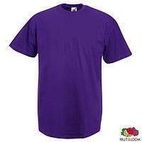 Футболка мужская XL/52 Fruit of The Loom Valueweight T Фиолетовый от 100 шт