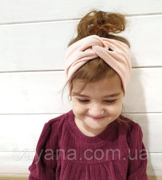 детская повязка на голову