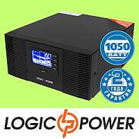 ИБП с правильной синусоидой LogicPower LPM-PSW-1500VA (1050W) 12V для котлов и аварийного освещения