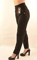 Брюки женские в деловом стиле - большие размеры, фото 3
