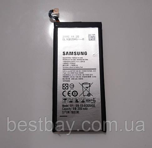 Samsung Galaxy S6 G920F АКБ ОРИГИНАЛ, фото 2