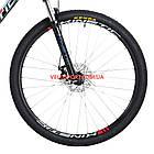 """Горный велосипед Kinetic Crystal 29 дюймов 18"""" черно-красный, фото 4"""