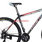 """Горный велосипед Kinetic Crystal 29 дюймов 18"""" черно-красный, фото 5"""