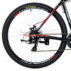 """Горный велосипед Kinetic Crystal 29 дюймов 18"""" черно-красный, фото 6"""