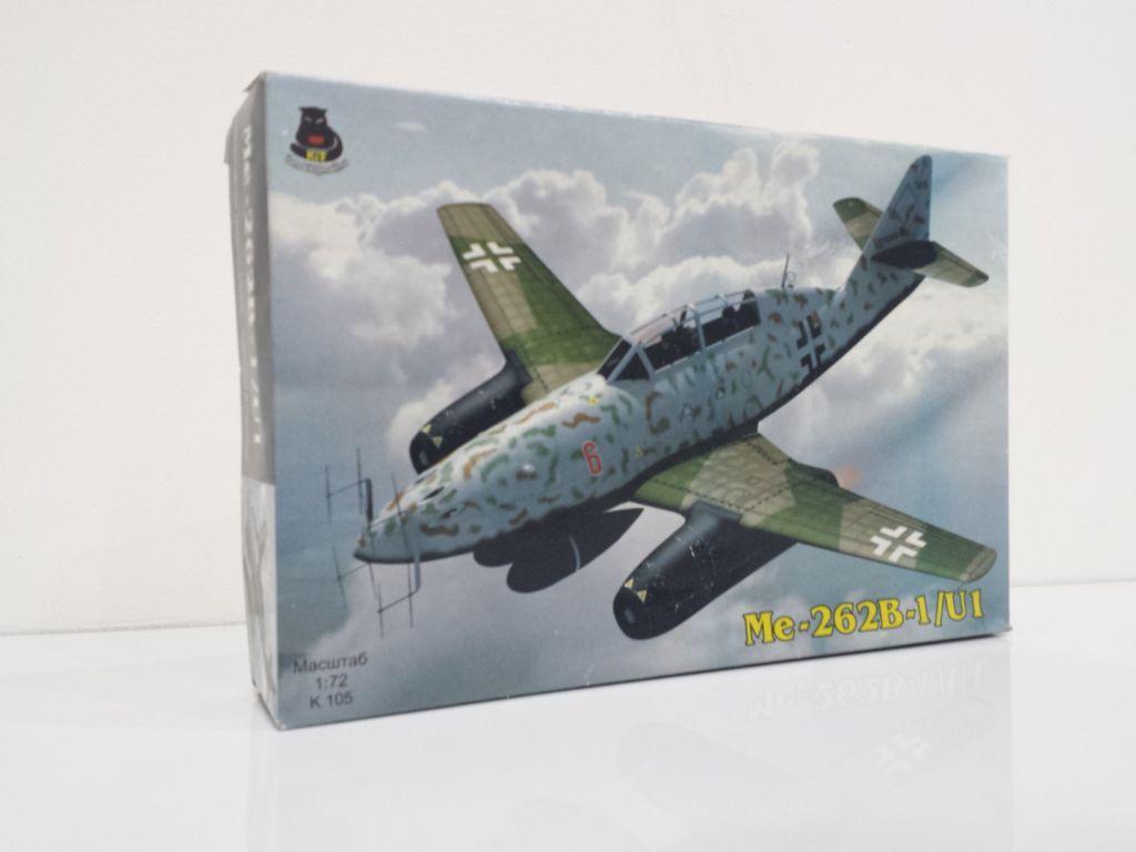 Модель самолета Messerschmitt Me-262B-U1 / 1:72