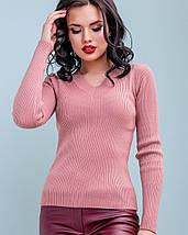 Женский облегающий пуловер (3245-3240-3314 svt), фото 3