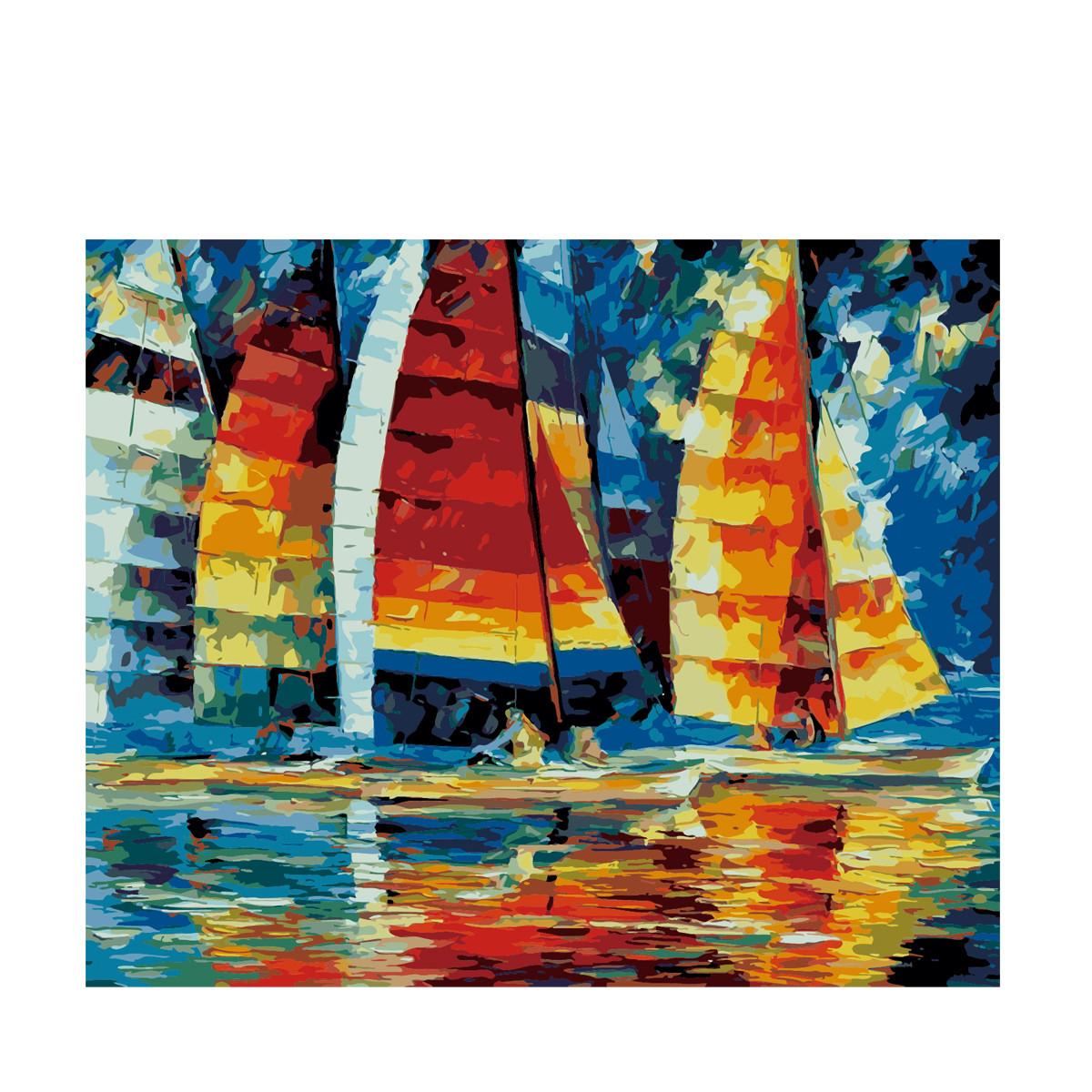 Картина по номерам Роспись на холсте Регата KH1015 40*50 см  (без коробки)