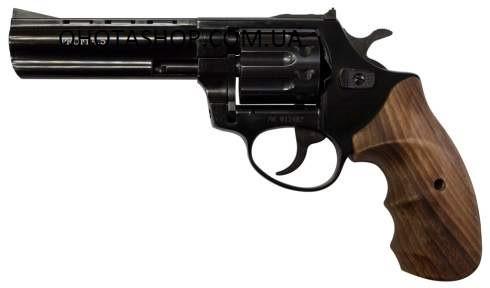 Револьвер под патрон флобер Zbroia Profi 4.5 (черный/бук)