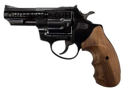 Револьвер під патрон флобер Zbroia Profi 3 (чорний/бук)