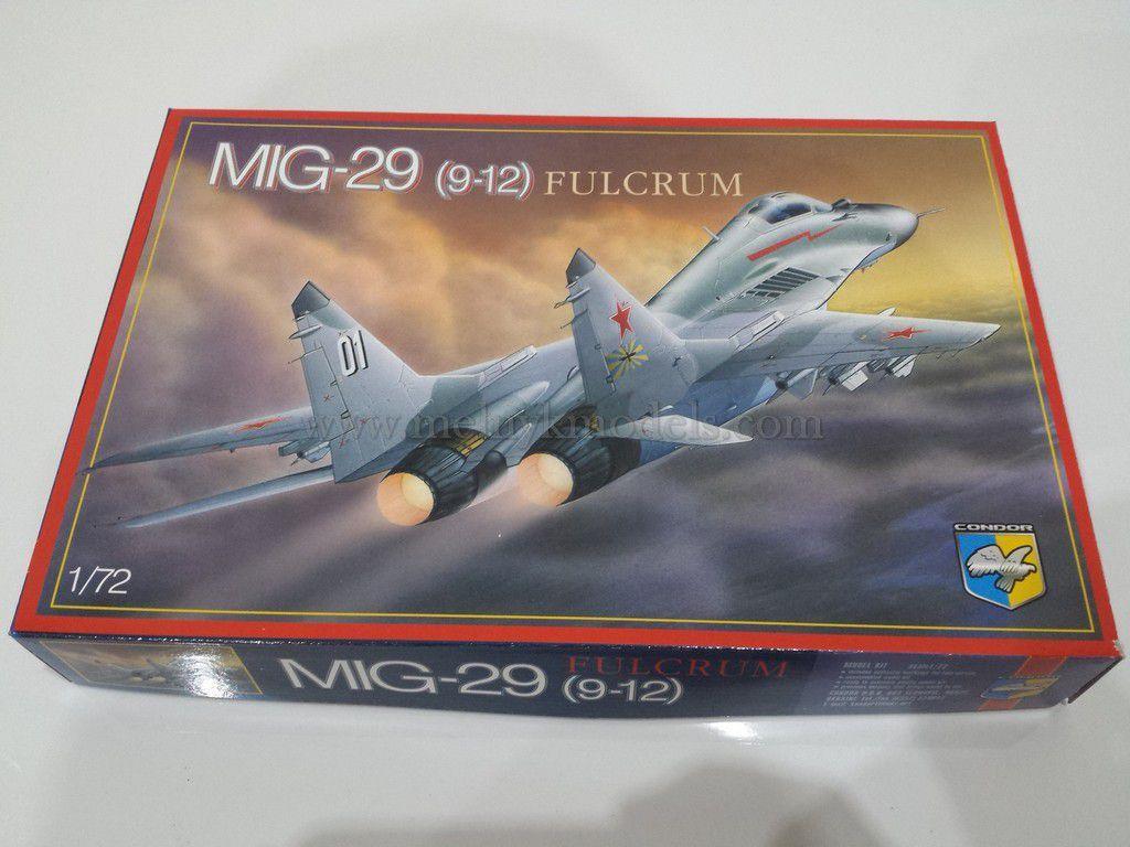 Модель самолета МИГ-29 (9-12) / 1:72