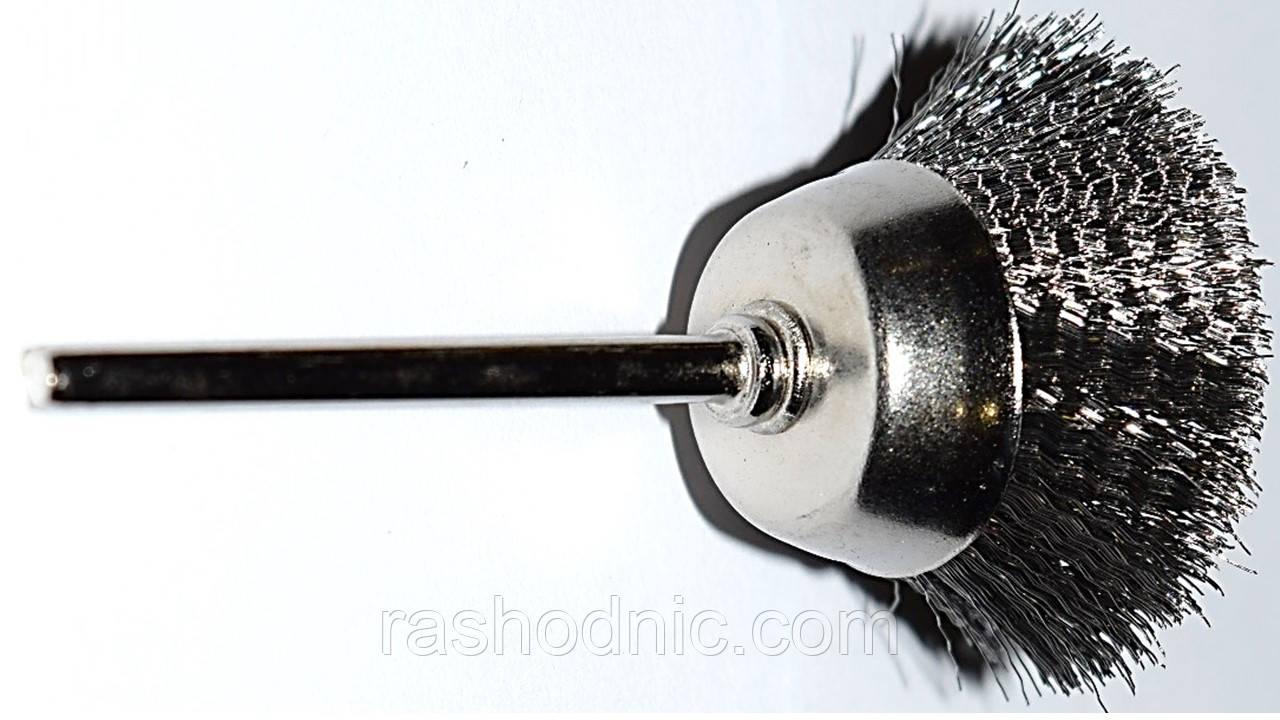 Щётка проволочная (колокол) 30мм