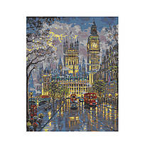 Картина по номерам Роспись на холсте Дворец Вестминстер КНО1151 40*50 см