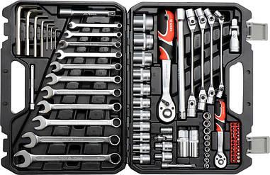 Набір інструментів з ключами Yato YT-38781 77 предметів