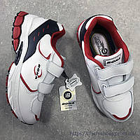Стильные белые кроссовки BONA 31-34 размер